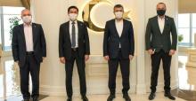 İYİ Partili Kavuncu'dan Bozkurt'a ziyaret