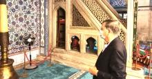 ABD Büyükelçisi'nden camilere ziyaret