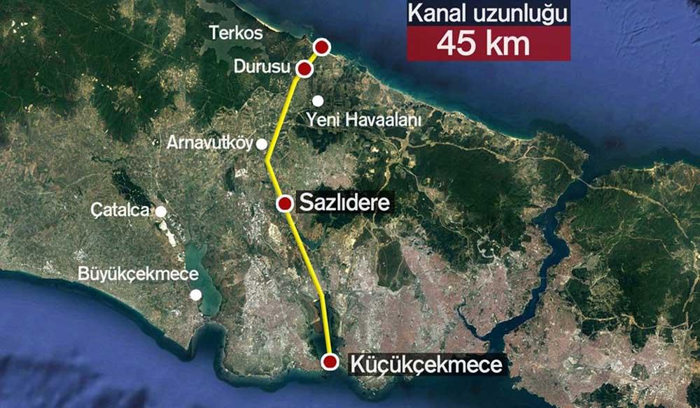 Küçükçekmece-Sazlıdere-Durusu koridoru - Durum Gazetesi